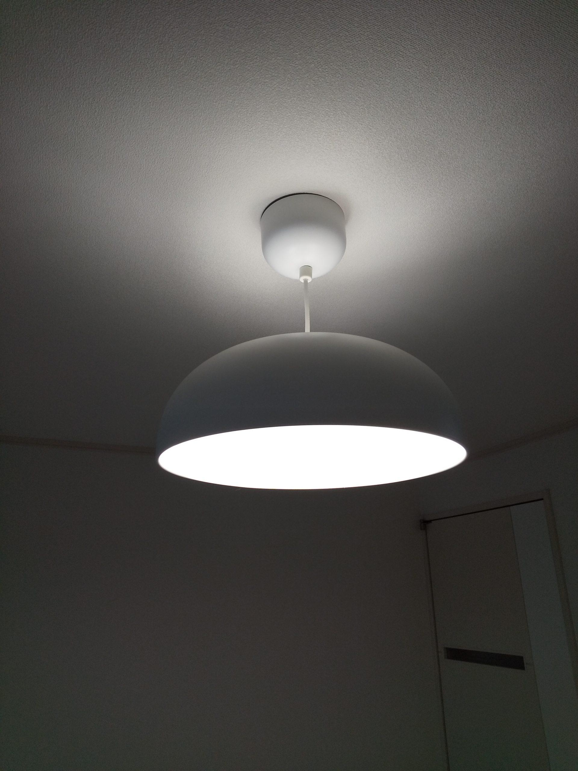 """<span class=""""title"""">IKEAの天井照明、NYMANE(ニーモーネ)のペンダントランプをレビュー!</span>"""